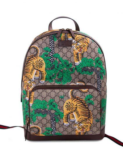 Gucci Bengal Tiger GG Supreme Backpack