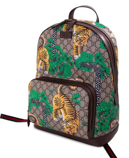 Gucci Bengal Tiger GG Supreme Backpack