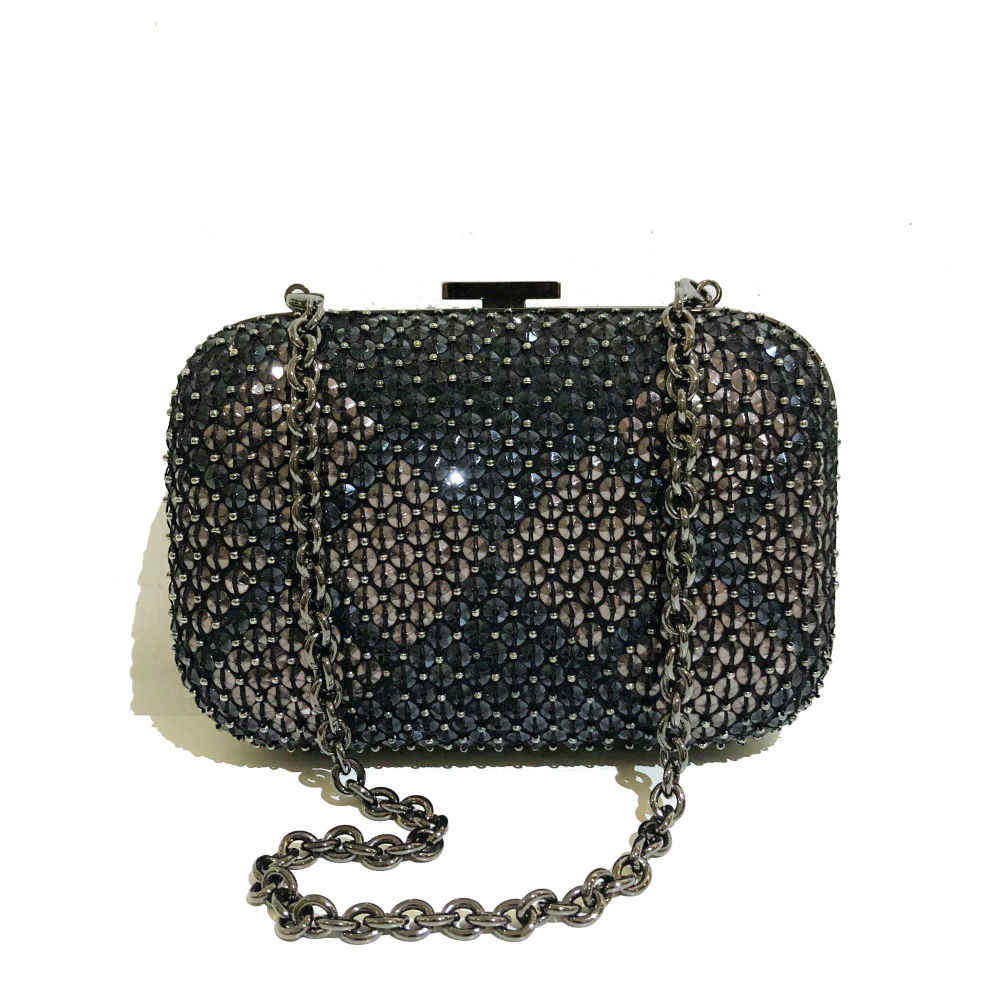 Gucci Studded Evening Clutch With Chain 10ac12e5ee2df