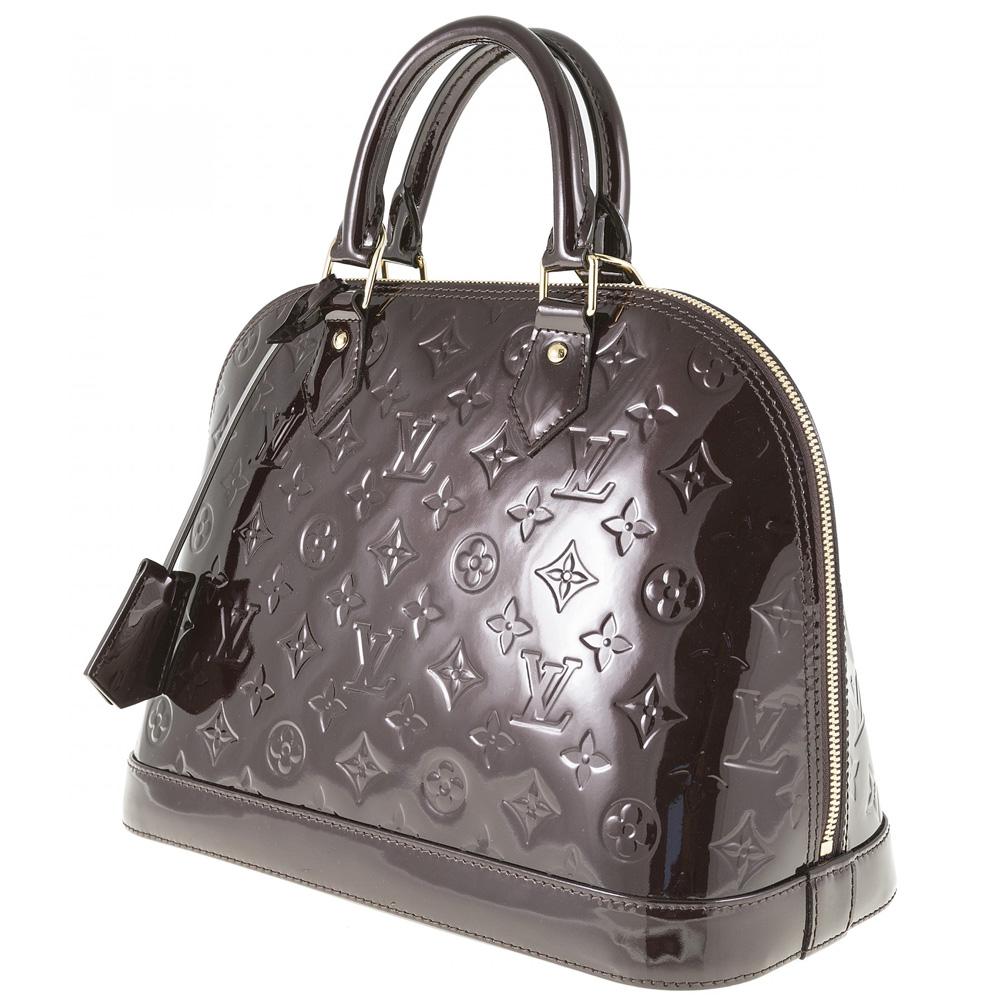 680046ea53fd Louis Vuitton Amarante Monogram Vernis Leather Alma PM