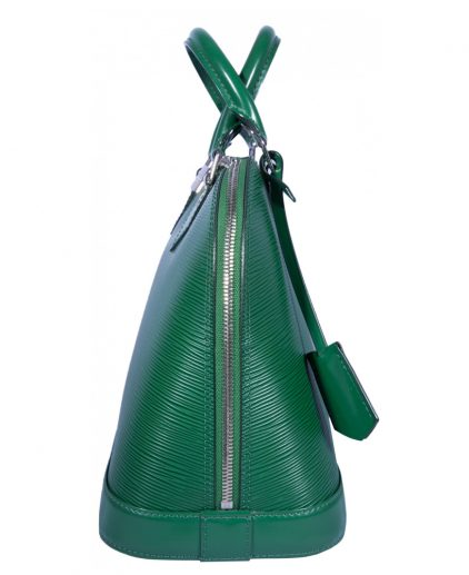 Louis Vuitton Green Epi Leather Alma MM