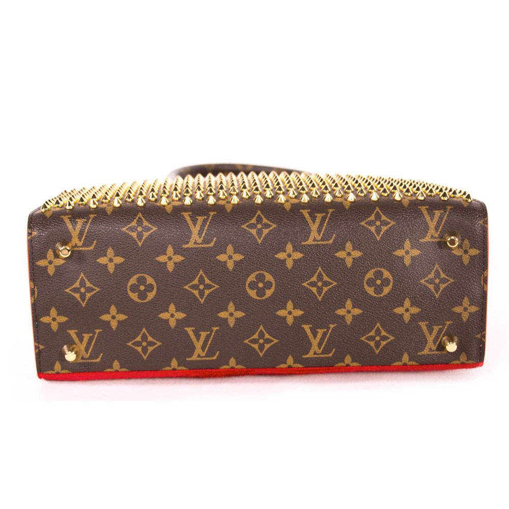 Louis Vuitton Limited Edition Christian Louboutin Shopping Bag