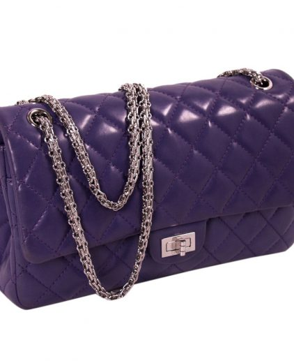 Chanel Purple Reissue 2.55 Classic 226 Flap Bag