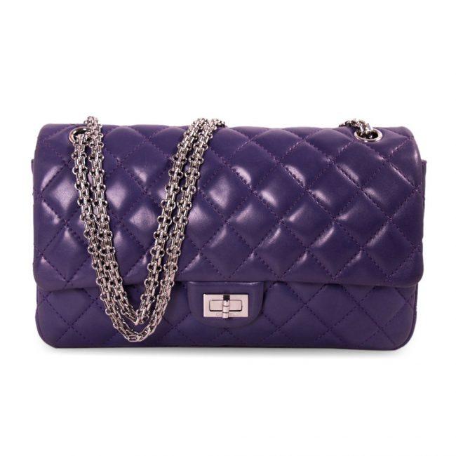 Chanel Purple Reissue 2.55 Classic 226 Flap Bag