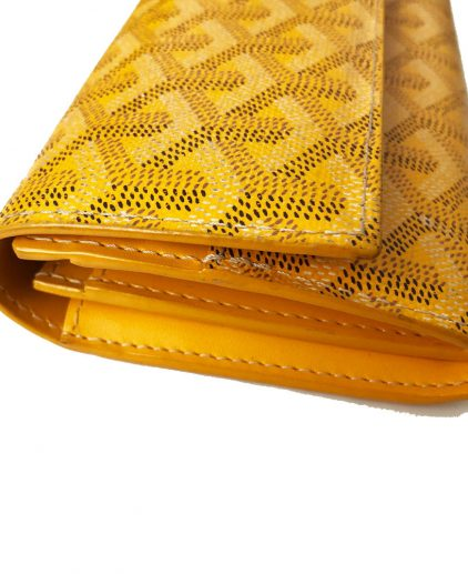 Goyard Yellow Varenne Long Wallet