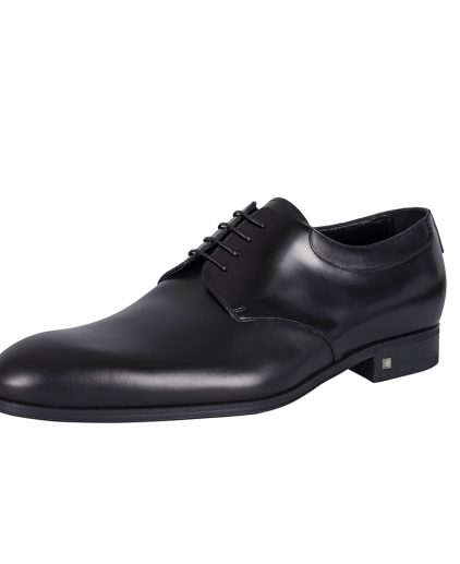 Louis Vuitton Black Leather Oxfords Shoes