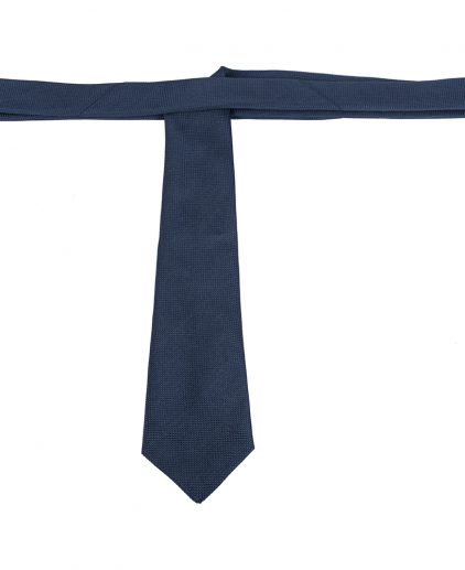 Louis Vuitton Dark Blue Silk Tie