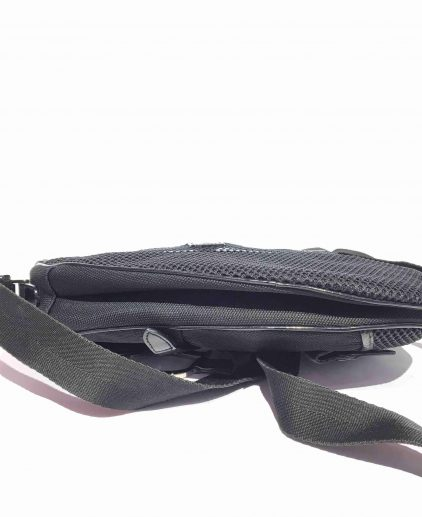 Dior Black Fabric Saddle Handbag