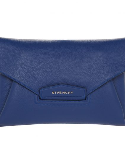 Givenchy Blue Medium Envelope Antigona Clutch
