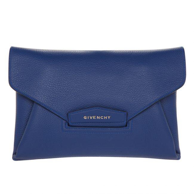 Givenchy Blue Medium Envelope Antigona Clutch