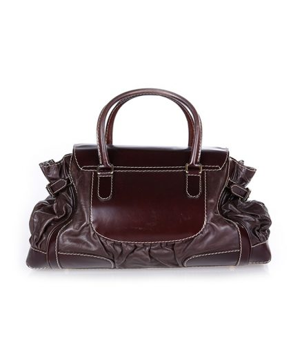 Gucci Brown Large Queen Satchel Handbag