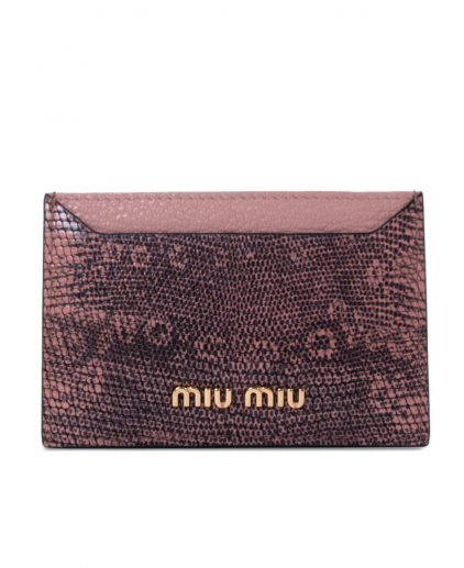 Miu Miu Exotic Leather Cardholder