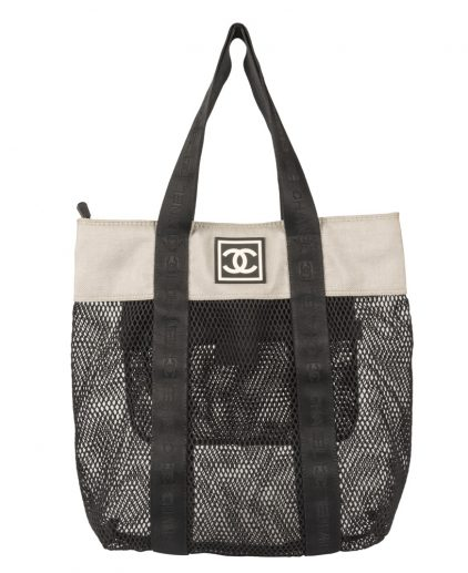 Chanel Large Sporty CC Shopping Tote
