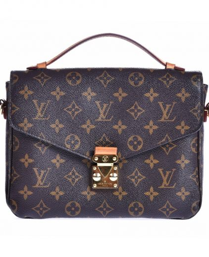Louis Vuitton Monogram Canvas Pochette Metis MM Bag