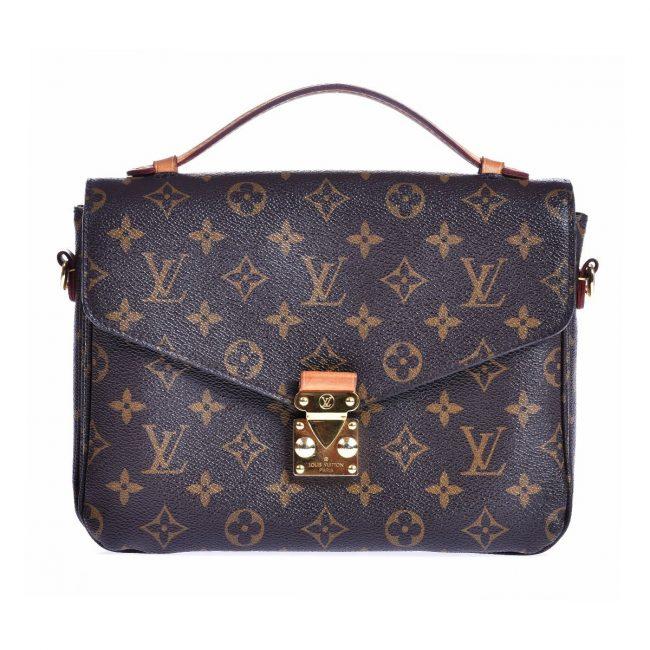 Louis Vuitton Monogram Canvas Pochette Metis MM Bag