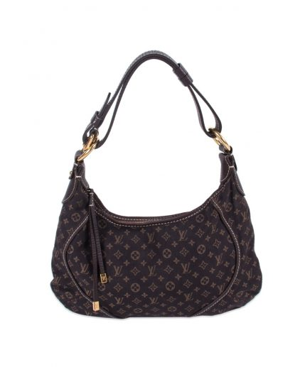 Louis Vuitton Monogram Mini Lin Canvas Manon Hobo MM