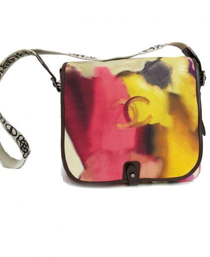 Chanel Multicolor CC Flower Power Messenger Bag