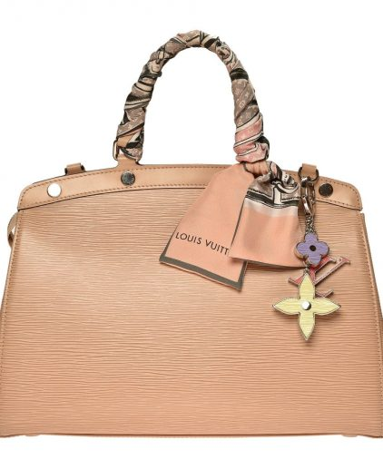 Louis Vuitton Beige Epi Leather Brea MM Handbag