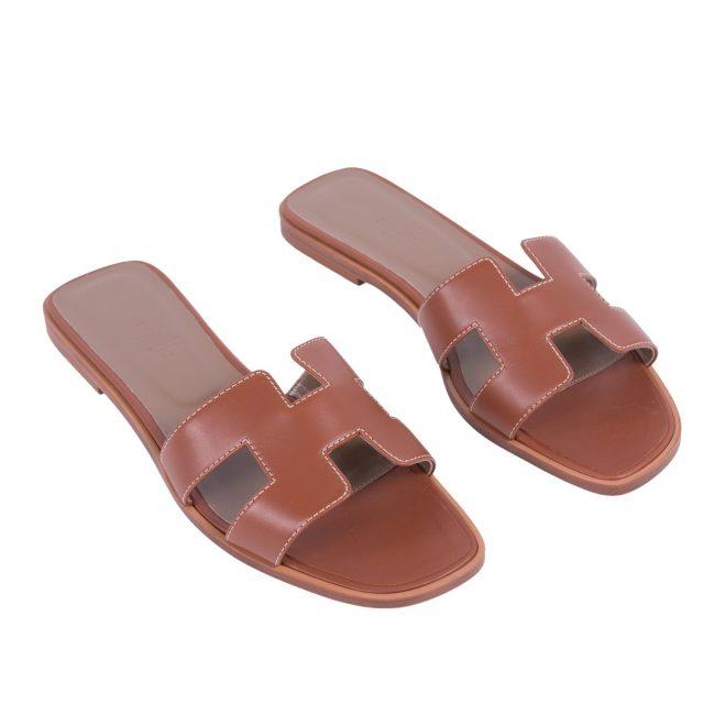 Hermes Oran Box Sandals