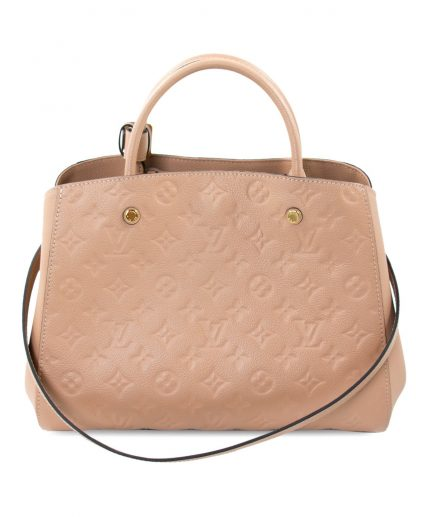 Louis Vuitton Papyrus Monogram Empreinte Leather Montaigne MM