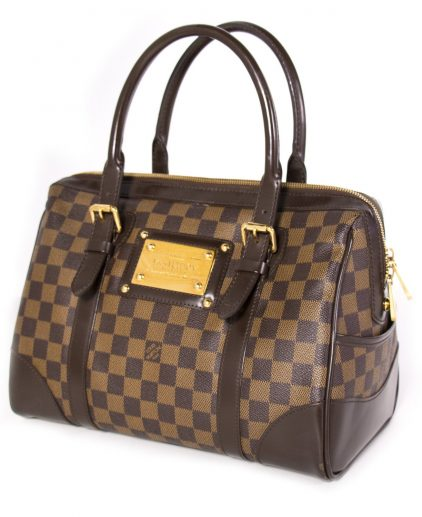 Louis Vuitton Damier Ebene Canvas Berkeley Handbag