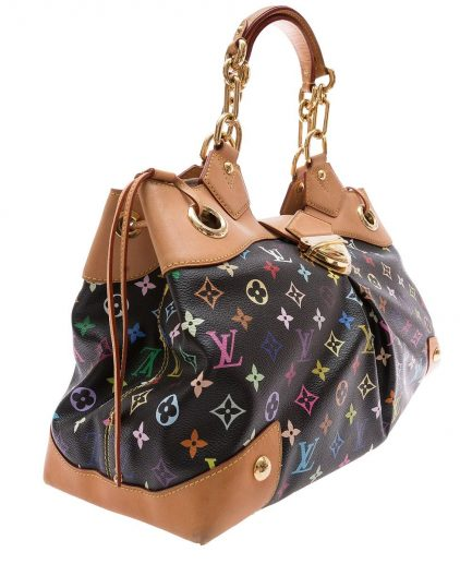 Louis Vuitton Black Monogram Multicolor Ursula Handbag