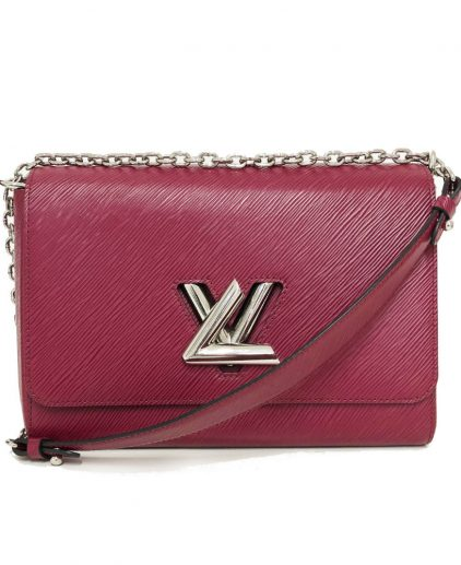 Louis Vuitton Pink Epi Leather Twist Gm Handbag