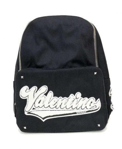 Valentino Garavani Rookie Appliqued Canvas Backpack
