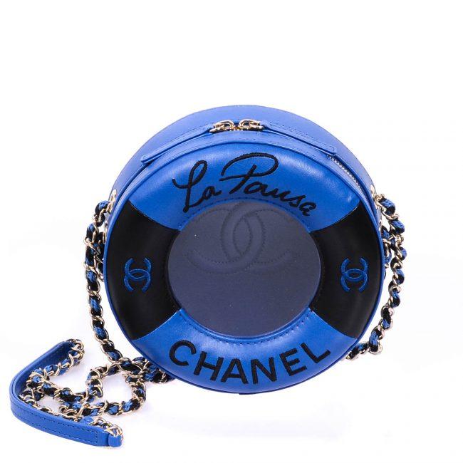 Chanel 2019 Coco Lifesaver Small Round Handbag
