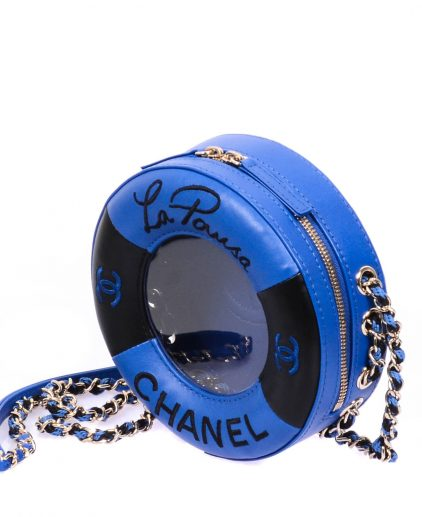 Chanel 2019 Coco Lifesaver Small Round Handbag