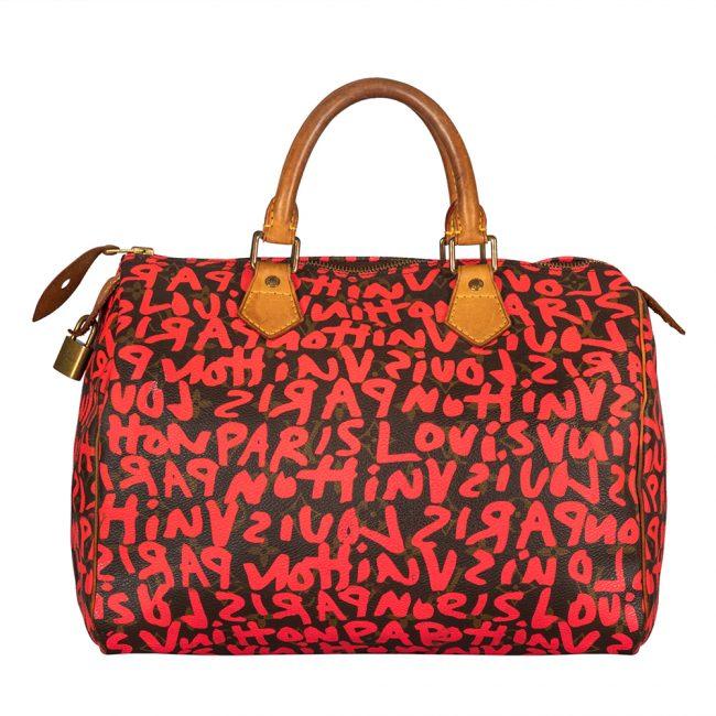 Louis Vuitton Cherry Graffiti Stephen Sprouse Speedy 30 Bag