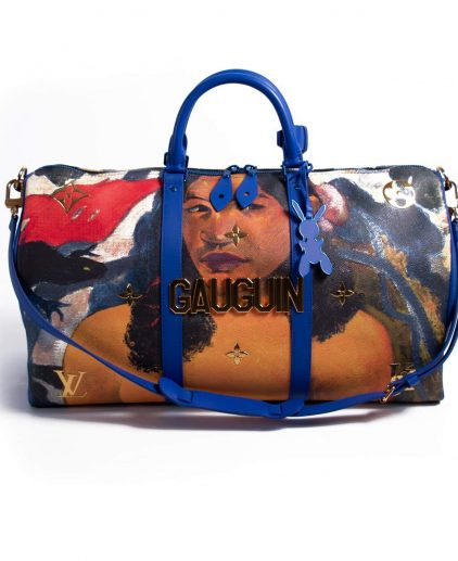 Louis Vuitton Jeff Koons Delightful Land Keepall 50