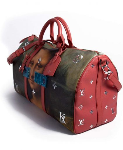 5a1c33536a2a ... Louis Vuitton Jeff Koons Mona Lisa Keepall 50