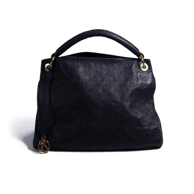 Louis Vuitton Navy Blue Empreinte Artsy Handbag