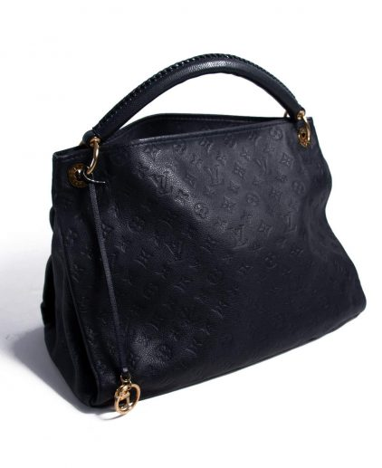 Louis Vuitton Navy Blue Empreinte Artsy Handbag