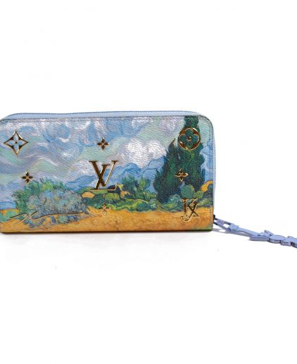 Louis Vuitton Van Gogh Jeff Koons Zippy Wallet