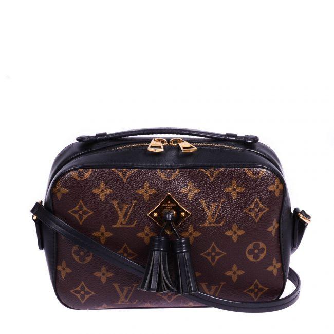 Louis Vuitton Monogram Canvas Saintonge Handbag