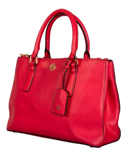 Tory Burch Leather Robinson East West Tote