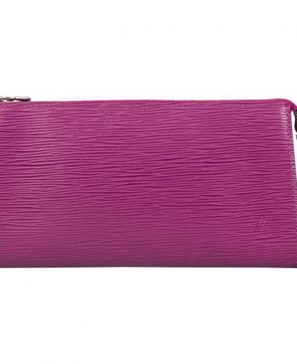 Louis Vuitton Grenade Purple Epi Leather Pochette Accessories