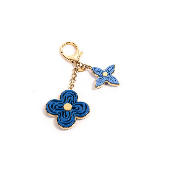 Louis Vuitton Blue Resin Naif Bag Charm Keychain
