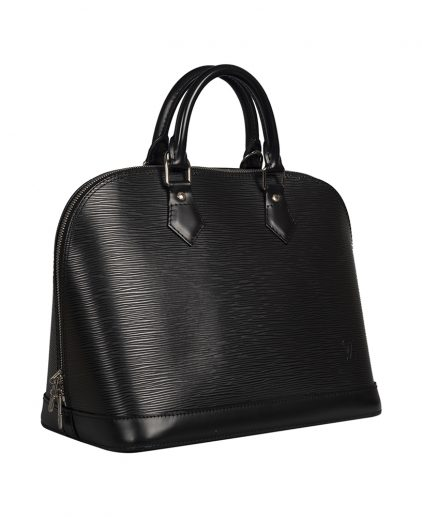 Louis Vuitton Black Epi Leather Alma PM Bag