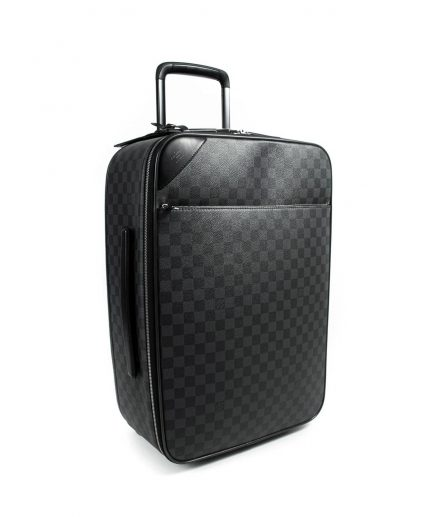 Louis Vuitton Damier Graphite Canvas Pegase Light 55 Suitcase