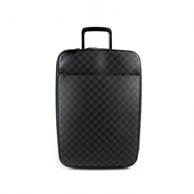 Louis Vuitton Damier Graphite Canvas Pegase Light 55 Suitcase