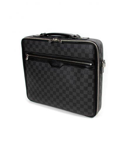 Louis Vuitton Damier Graphite Canvas Steve Laptop Bag