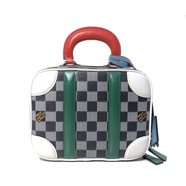 Louis Vuitton Damier Graphite Mini Luggage BB Handbag