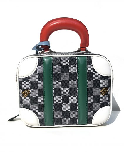 Louis Vuitton Damier Graphite Mini Luggage BB Handbag
