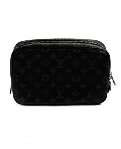 Louis Vuitton Damier Graphite Monogram Canvas Toilet Pouch GM