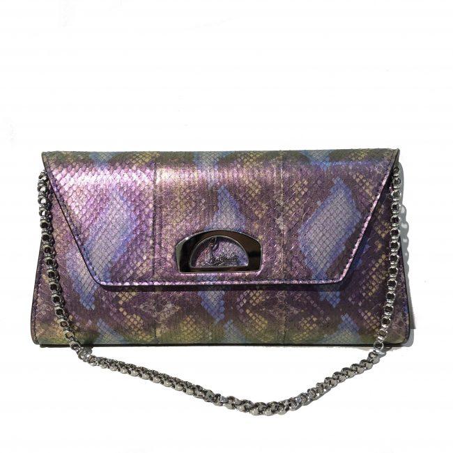 Christian Louboutin Exotic Leather Vero Dodat Chain Handbag