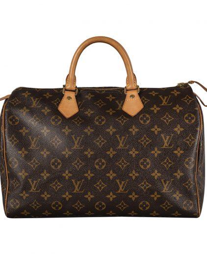 Louis Vuitton Monogram Canvas Speedy 35 Handbag