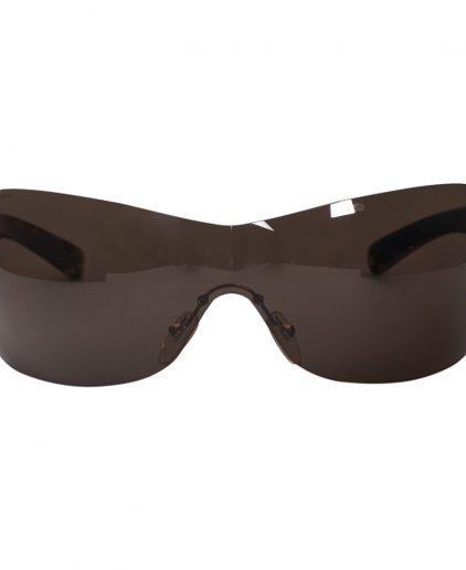 Prada Brown SPR 041 Shield Women Sunglasses